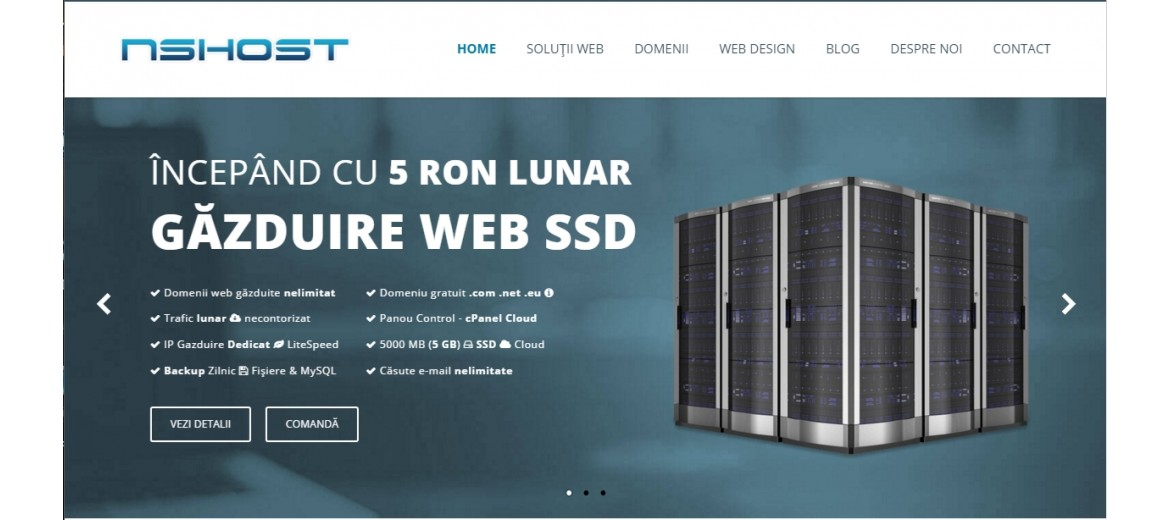 Why NSHOST for Web Hosting